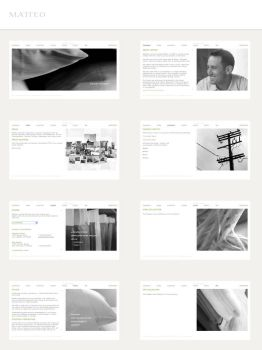 MatteoHome Website-Finale by TheRyanFord