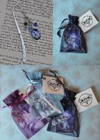 Metal Bookmarks by JannaFairyArt