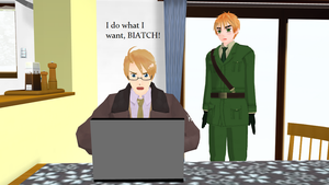 MMD Hetalia - You can say that again, America by PikaBlaze