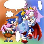 sonamy's kids by GaruGiroSonicShadow