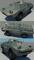BRDM2 by strayferret
