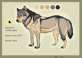 Design 4 for Wolfie-balto by ZabbyTabby