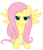 Serious Fluttershy by ExiBrony