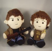 Winchester brothers plush set by pandari