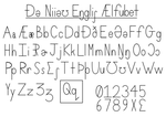 The Neo-English Alphabet by Mr86Returns