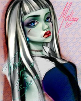 Monster High - Frankie Stein by Mellvine