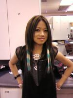 Racoon Tail Clip-in Extensions by SapphireTatanya