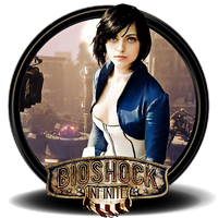 Bioshock Infinite Png Icon (2.) by SidySeven