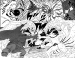 Naruto Chapter 695- Tails Vs Swords by DarkCaptainJules