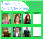 Voice Actor Meme #7 (The Wild Swans) (2004 by Hillygon