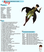 Hetalia Birthday Game || by FluffyMe