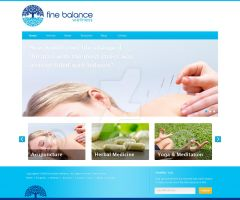 Fine Balance Wellness Design by feryardiant