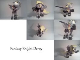 Fantasy Knight Derpy Papercraft by Blubaxp