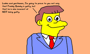 Lionel Hutz Talking About Freddy Quimby's Guilt by MikeEddyAdmirer89