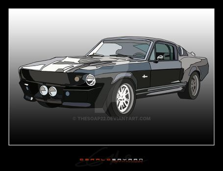 1969 Ford Mustang - Eleonor by TheSOAP22