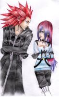Axel and Yale by PapouJunkie