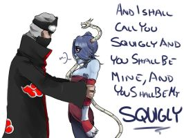 And I shall call you Squigly... by AbsolutePineapple