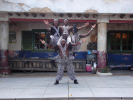 AK Africa Gymnists 4 by WDWParksGal-Stock