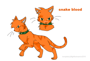 snake blood by whiteheartwarrior