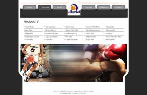 alberta Sports product page by wasimshahzad