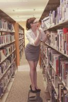 Library Photo Shoot 4 by fairiegrl