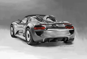 Porsche 918 Spyder by darkdamage