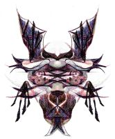 Abstract Creature Face by kbhollo
