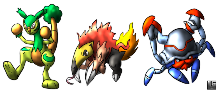 Starters- Stage Tres by LE-the-Creator