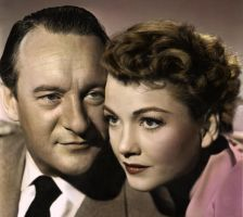 George Sanders and Anne Baxter by Gorseheart