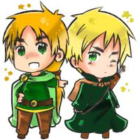 Hetalia: OC Ireland and Iggy by Syoa-Kun