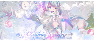 Signature Christmas is coming by quizda31
