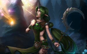 Dryad Soraka (Riot Contest 2014 entry) by Flesh-Odium