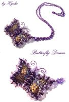 Butterfly Dream Necklace by Hyo-pon