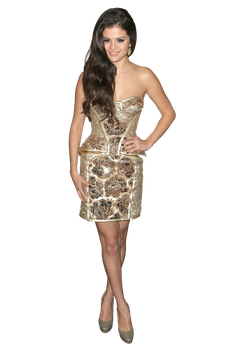 Selena Gomez in Golden Globes - PNG/Render by tommz2011