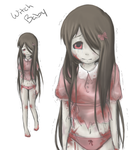 Witch Baby - L4D2 Oc by aley-hay
