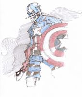 Captain America by Baltimore18