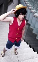 Luffy - One Piece by jettyguy