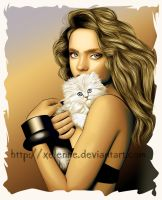 My pretty kitten by Xelenne