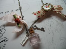 Alice Drink Me Necklace 1 by gedatsu-kitteh