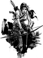 TOMB RAIDER by aaronminier