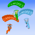Skydiving CamPokes by phallen1