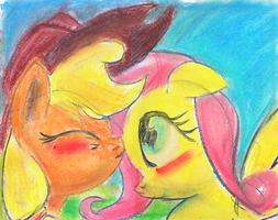 Speed... um.. Paint? AppleShy by kittyhawk-contrail