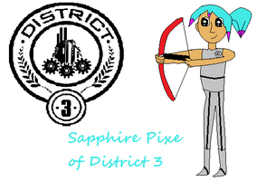 Sapphirepixe of district 3 by sapphirepixe