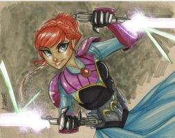 Jedi Padawan Anna by Hodges-Art