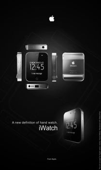 Imagine the iWatch by KMiklas