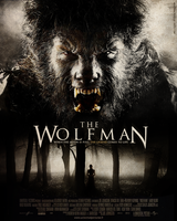 The Wolfman Poster Movie by mademoiselle-art