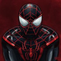Daily Sketches Ultimate Spider-Man by fedde