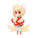 Kitsune Adoptable [CLOSED] by LeafyAdopts