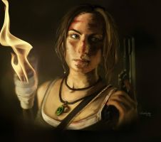 Tomb Raider Reborn ART by Franc1ne
