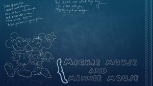 Wallpaper mickie mouse by Forever-editt